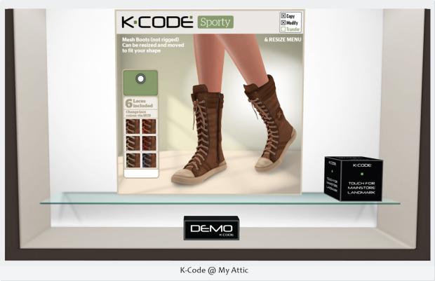 K-Code @ My Attic