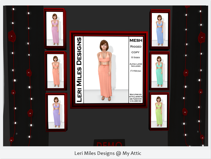 Leri Miles Designs @ My Attic